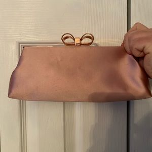 Ted Baker Colette Pink Polyester Clutch